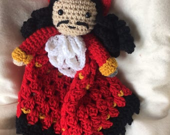 Captain Hook Security Blanket