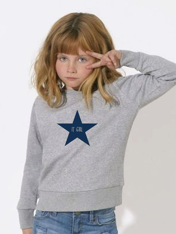 Girl sweater IT GIRL in a STAR