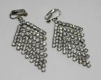 Stunning crystal earrings