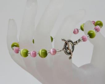 Lovely soft tone beaded bracelet