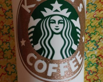 Personalized Starbucks© travel mugs! Made to order !!