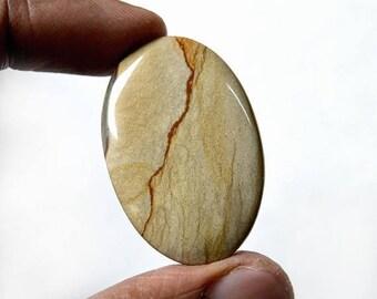 80% Sale American Jasper 45.5 Cts Natural Gemstone Cabochon Jaser gemstone Oval shape 38x25x6 MM AC1910