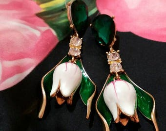 Inspired # tulips # earings #