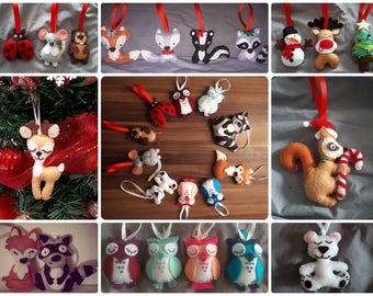 Christmas ornaments (on order)