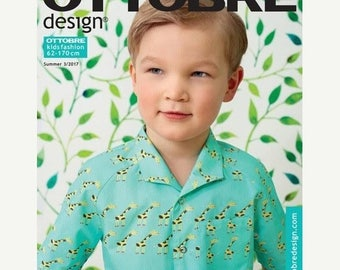 ON SALE 10% Off Ottobre Design Magazine SUMMER Kids issue 3/2017 - Uk Seller