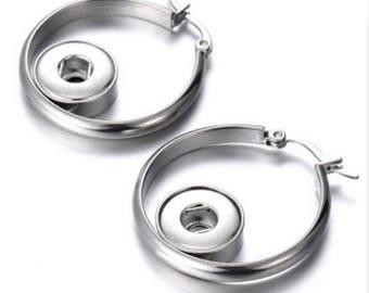 Earrings creole, ethnic earrings, Stud Silver earrings, clip earrings
