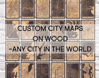 5 year Anniversary Gift for Men gift Wood wall art Travel poster Map wall art Travel gift for Boyfriend gift for Women Panel effect wood map