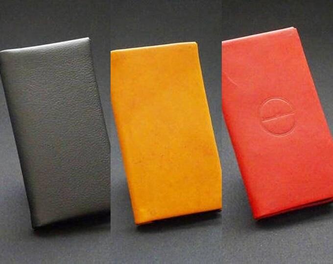Custom Made Leather Phone Case Wallet - Apple Samsung Sony Google Oppo Nokia Huawei LG HTC Microsoft Motorola - Genuine Kangaroo Leather