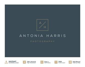 Photography Logo Design. Initials Logo Design. Instant Download Logo. Modern logo Design. Photographer Logo. Business Logo. Elegant Logo
