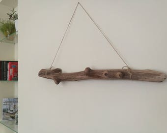 Nut Beige Wood Dowel Long Driftwood Piece Crafting Stick For Large Weaving Wall Hanging Macrame 32.5""