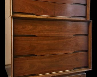 Kent Coffey Solid Wood Tallboy Dresser