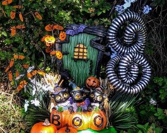 Halloween Boo Door