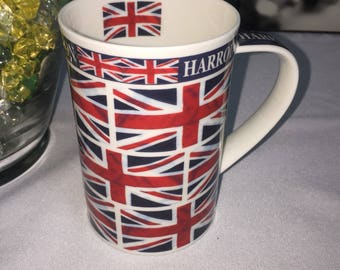 Harrods London Fine bone China Mug