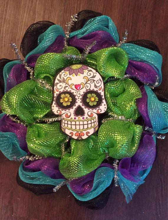 Sugar Skull Wreath!!! - My Sugar Skulls