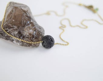 SANGAY N11• necklace with lava stone