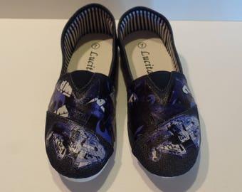 Star Wars Slip on Sneaker, Ladies' size 7