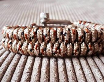 paracord bracelet desert camo