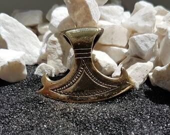 Viking AXE Necklace Scandinavian amulet Charm pendant