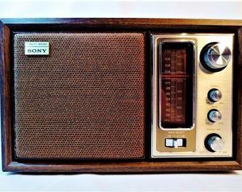 SONY FIDELITY SOUND Counter Top Radio