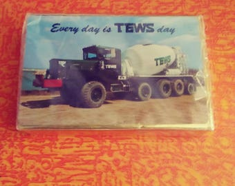 70s Tews Cement Truck Playing Cards/Tews Cards/Tews Cement/Vintage Tews Cards/Wisconsin Souvenir/Milwaukee