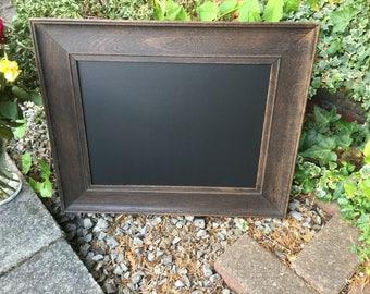 Antique Oak Chalkboard Menu - lovely Wooden chalkboard, Blackboard.