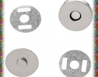 20 sets fermoirs magnétique 14 mm pour sac