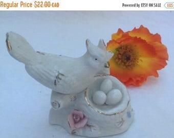 O Canada Sale Porcelain Bird With Nest Full Of Eggs