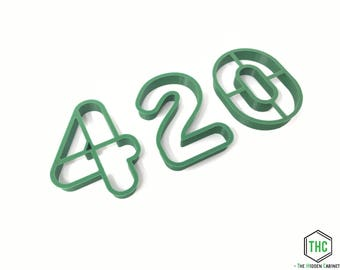 420 Cookie Cutter Set