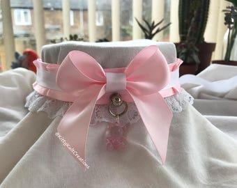 Pink Babydoll Collar