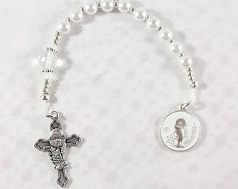 First Communion Pocket Rosary