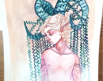 Ivy Satyr- Original Artwork