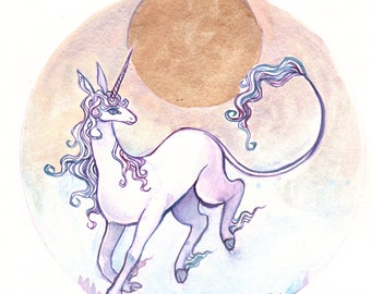 The Last Unicorn- Print