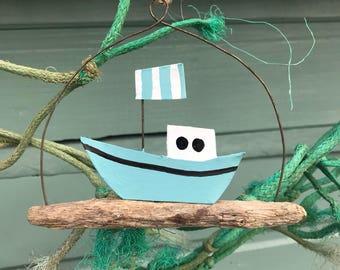 Nautical • Boat • Wall Hanging • Driftwood