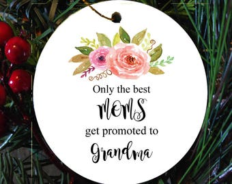 Grandma Ornament/Grandma gift/Best Grandma/Christmas Ornament/Personalized Ornament/Grandma ornament