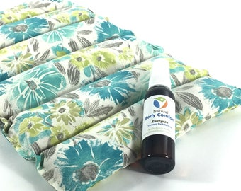 Microwave Heating Pad, Heat Therapy Rice Bag, Relaxation Gift, Fibromyalgia, Lumbar pillow, Get Well Gift, Aromatherapy Pack, SHIPS FREE!