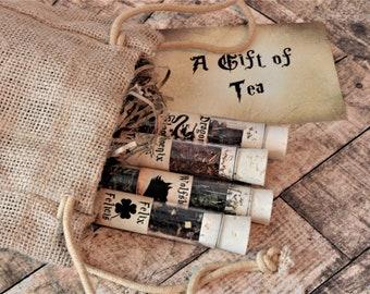 Tea Potions - Harry Potter Inspired Tea - Magic Gift - Fantasy Gift - Felix Felicis - Wolfsbane - Phoenix Tears - Dragons Blood
