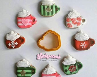 Printed Cookie Cutters By Strivami On Etsy