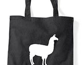Alternative Animal Names Giraffe Sheep Llama Cute Funny Animal Themed Tote Bag Shopper