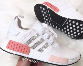 Adidas NMD Runner customized with SWAROVSKI® Xirius Rose-Cut Crystals.