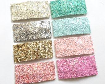 Glitter Snap Clips | Snap clips - Glitter Clips - Glitter Hair Clip - Girls Snap Clips - Baby Snap Clip, Snap Clips for Girls, Hair Clips