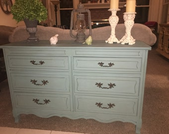 Refinished french provincial sideboard