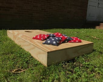 Designed Corn Hole Bags 8 Pack