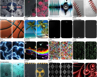 Choose Any 1 Vinyl Decal/Sticker/Skin Design for the Samsung Galaxy Note 8 Tab N5110 - Android Tablet