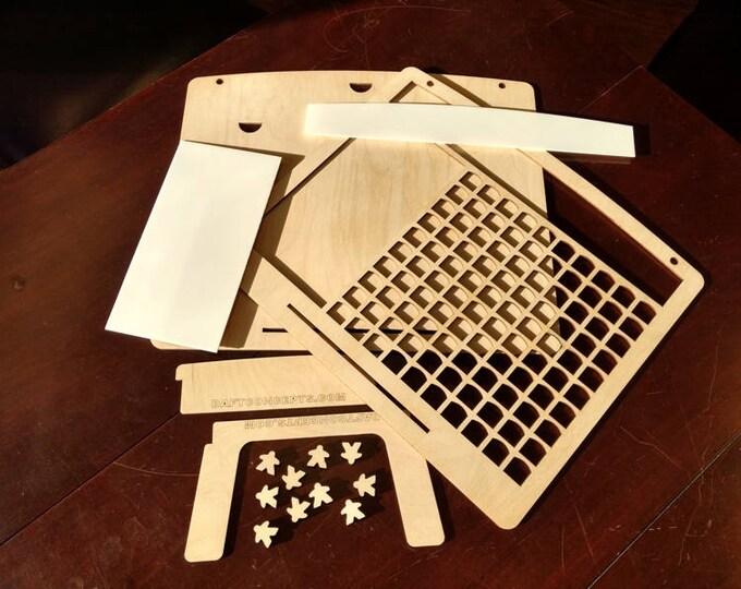 10 x 10 Unassembled Board Game Challenge Plaque