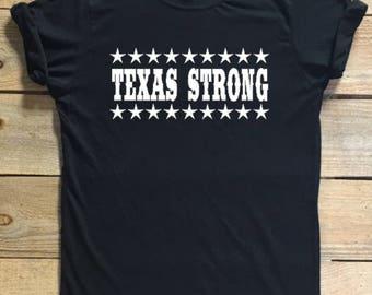Texas Strong, Texas Strong shirt, Hurricane Harvey, Texas support