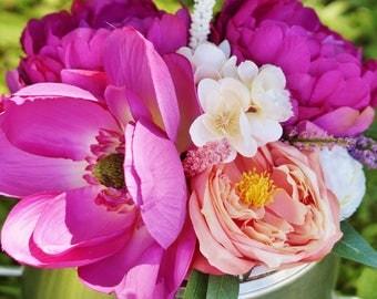 Flower Cake Topper, Cake Topper, Floral Cake Topper, Wedding Cake Topper