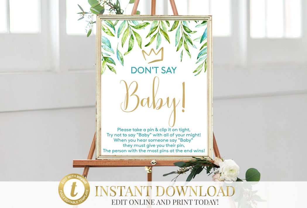 Where the Wild Things Are Baby Shower, Don\'t Say Baby Game, Wild ...