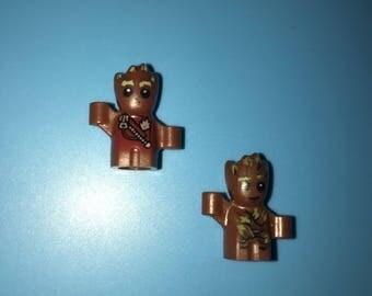 Marvel BABY GROOT (2) Guardians of the Galaxy 2 Custom Superhero Minifigures