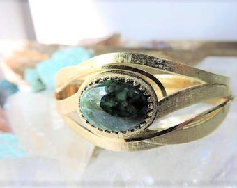 Vintage Whiting & Davis Gold Tone Bracelet