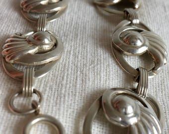 """Vintage Sterling Silver """"DANECRAFT"""" Bracelet"""
